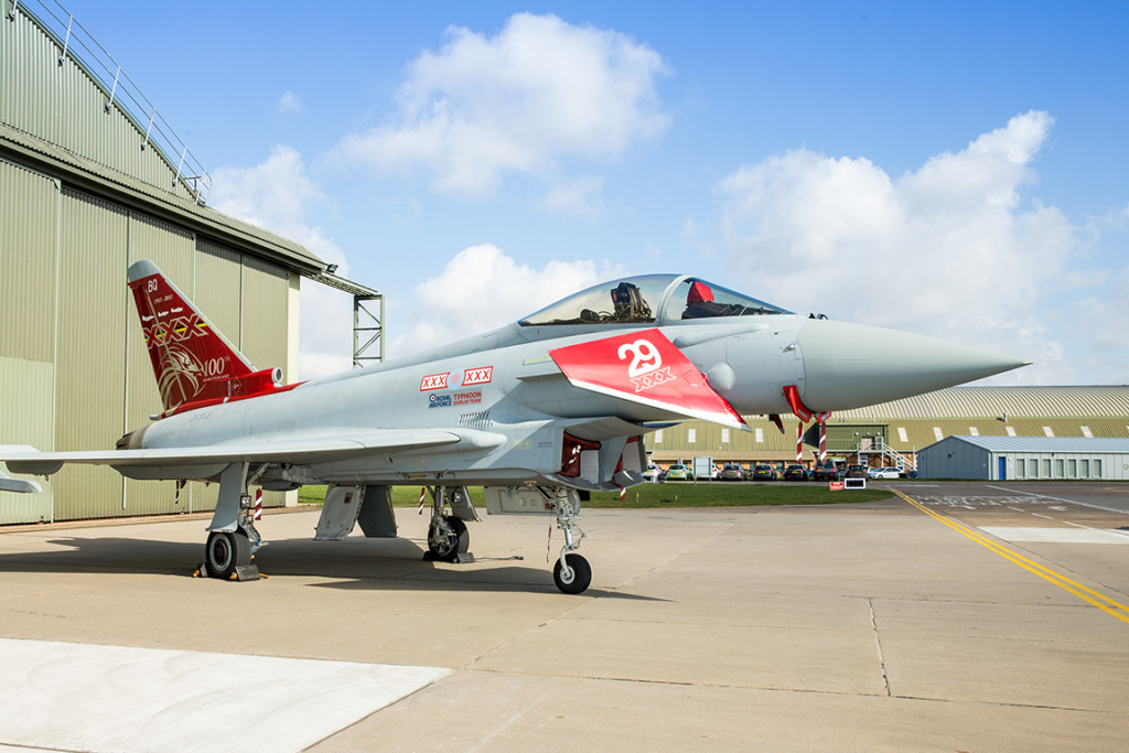 29(R) Sqn Centenary Jet Paint Scheme - by SAC Megan Woodhouse