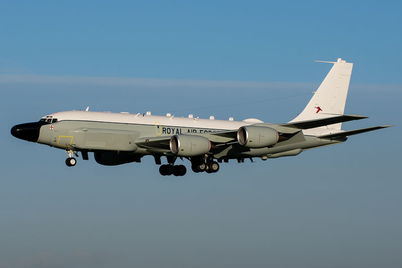 Aviation News – The RAF receives its first RC-135 Rivet Joint