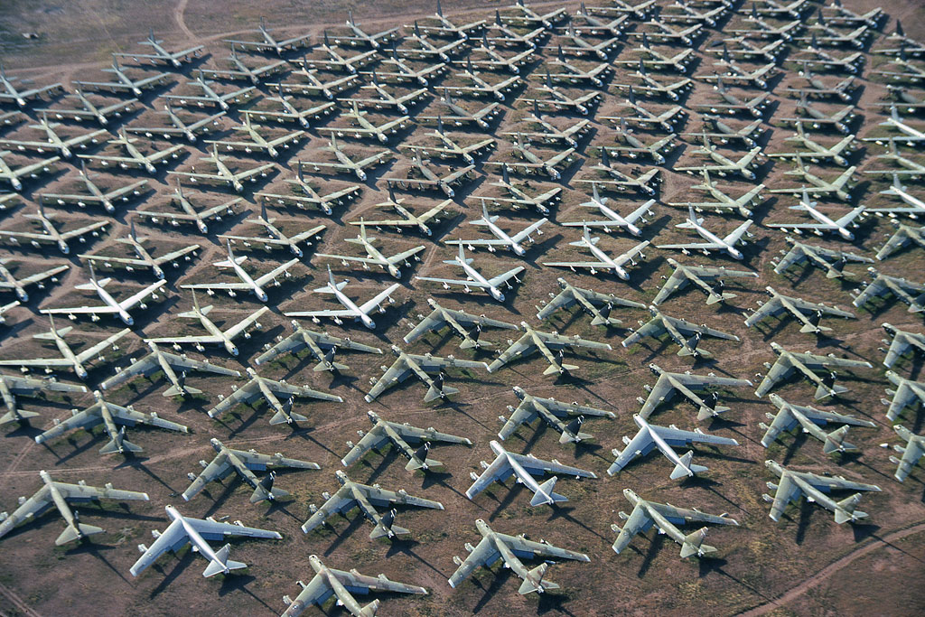 Aviation Feature – Boneyard Memories: AMARC Davis-Monthan AFB 1987-1995