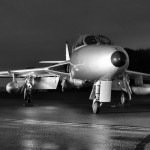 Aviation News – Midair Squadron Hawker Hunter XL577 / G-XMHD receives silver colour scheme