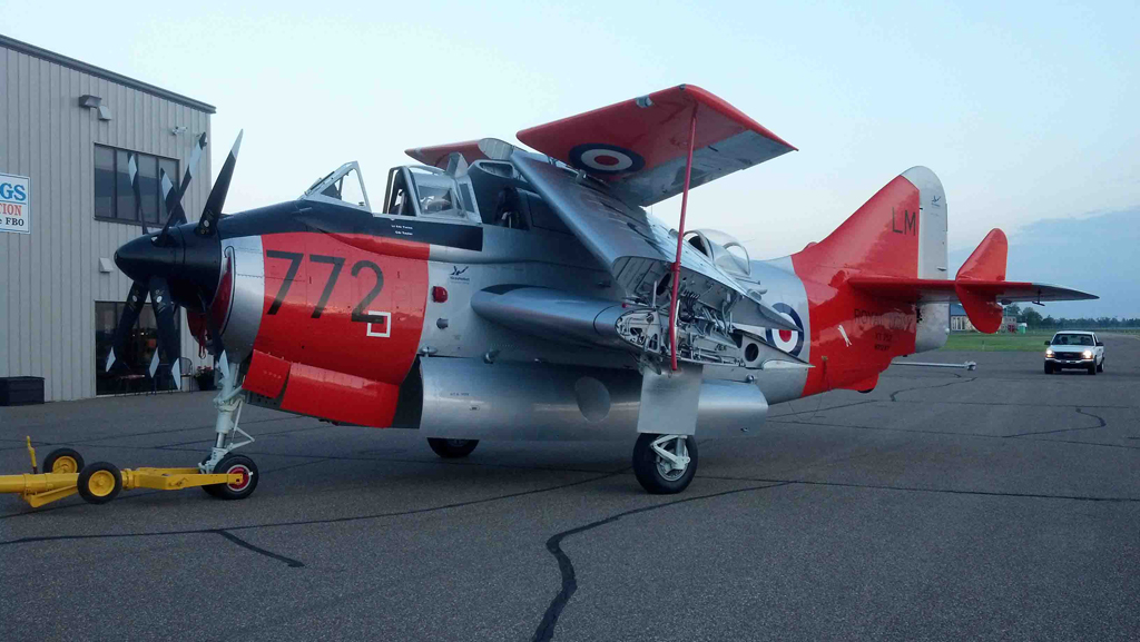 Image © 2010 Fairey Gannet XT752 Organisation all rights reserved