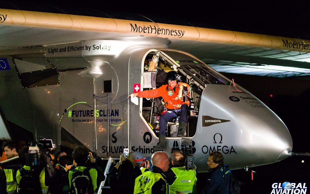 Aviation Event – Solar Impulse Completes Pacific Crossing