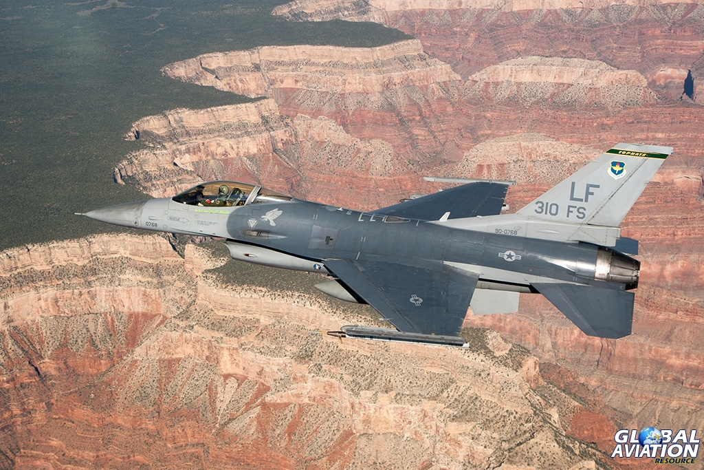 Aviation History and Nostalgia –  Luke AFB and the F-16