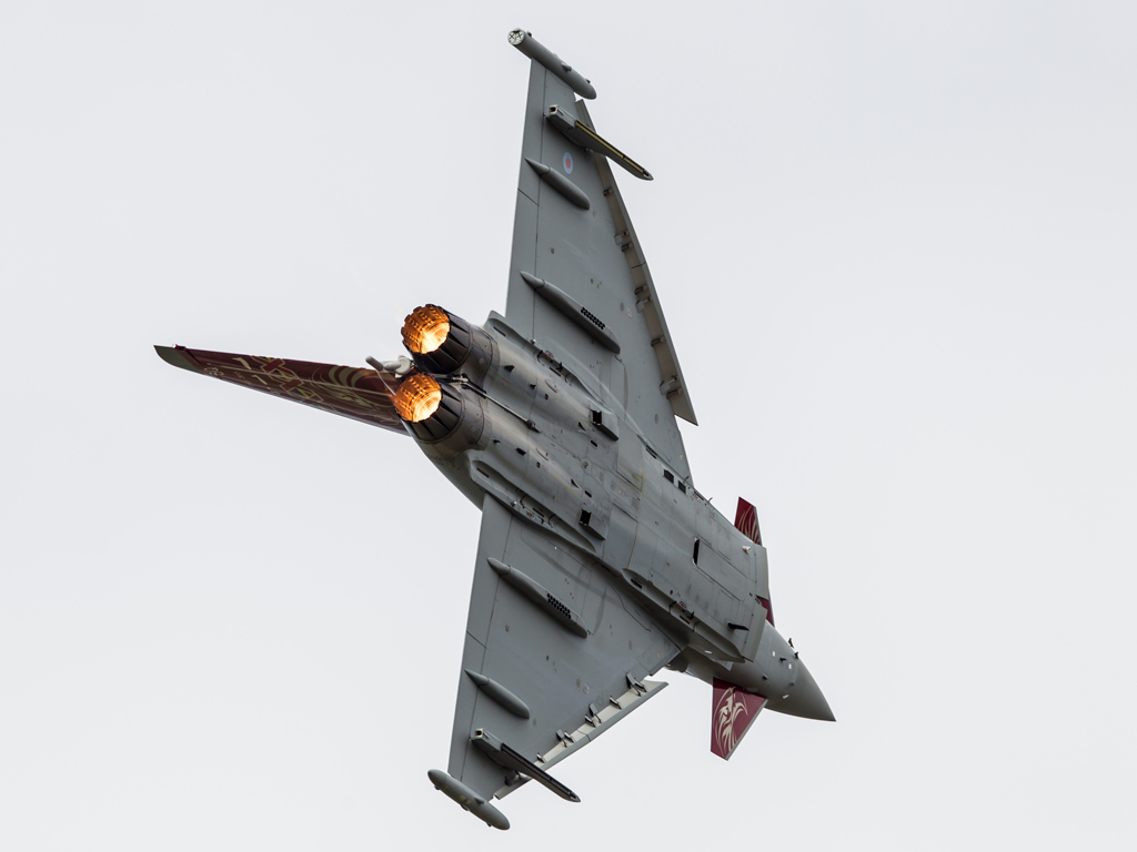 Airshow feature – Royal Air Force Eurofighter Typhoon Display 2015