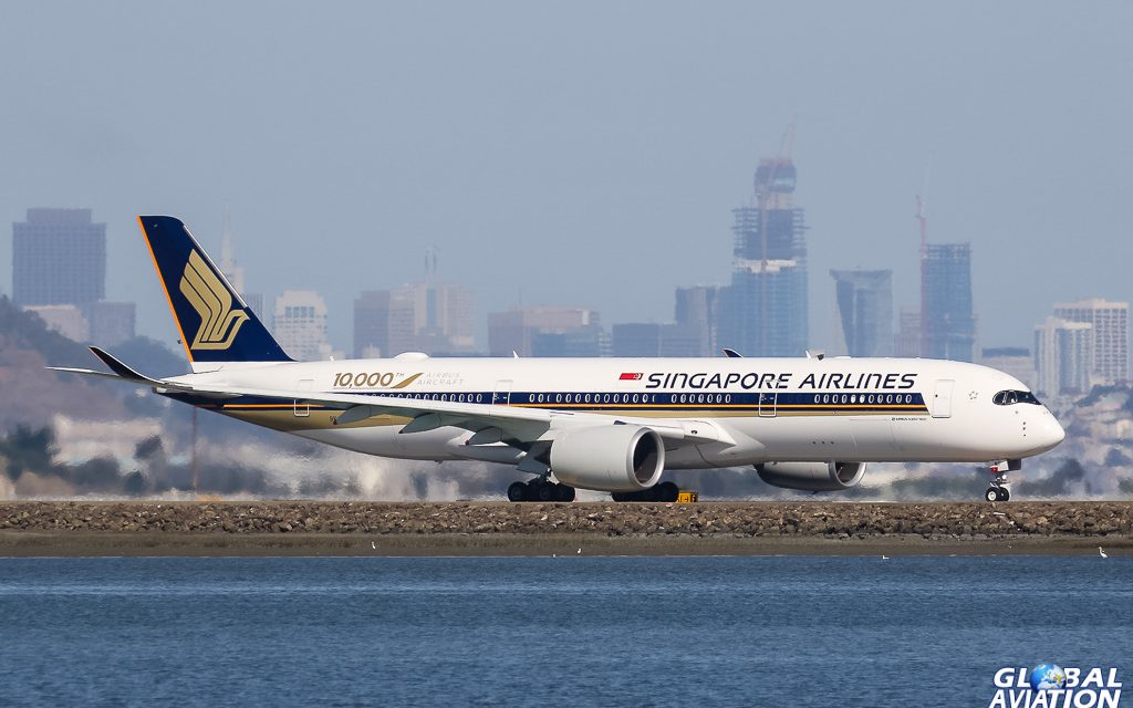 Aviation Events – Singapore Airlines Launches Direct Service to SFO