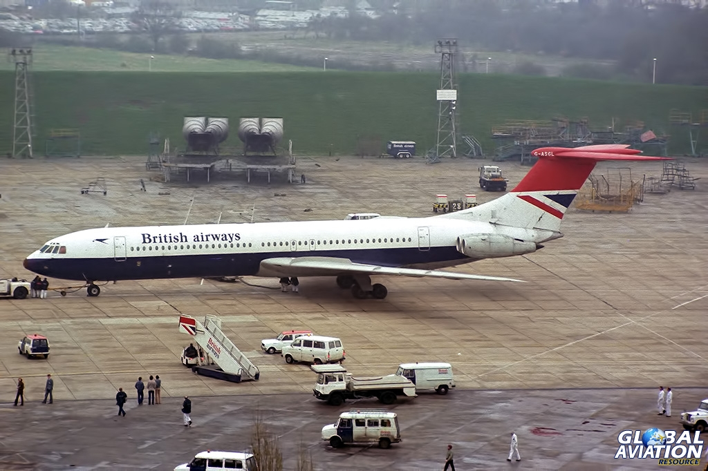 Aviation Feature – London Heathrow Airport 1981