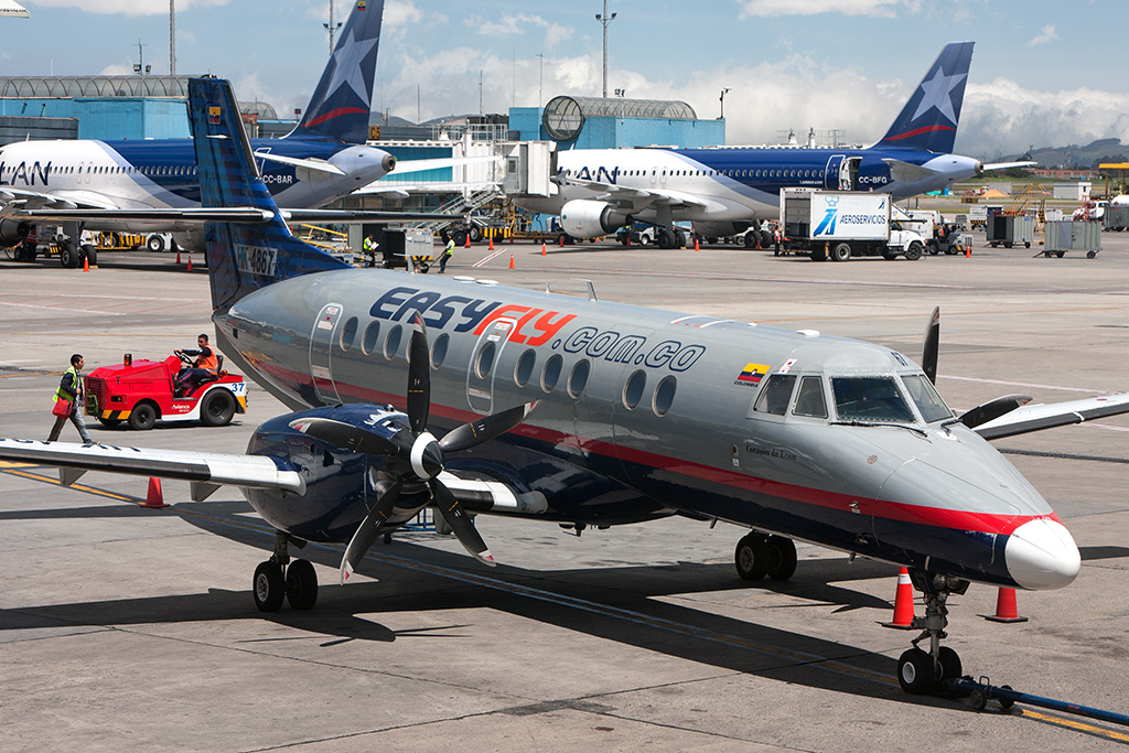 Aviation Feature – Colombia Pt.7 – Jetstream 41 Flight to El Alcaraván Airport