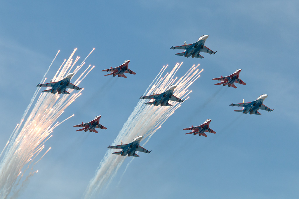 Military Aviation – VE Day 70 Anniversary Parade 2015, Moscow