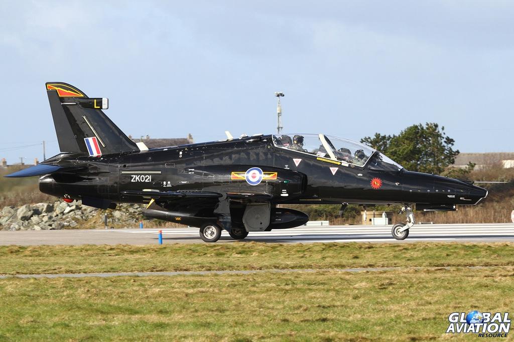Hawk T2 at RAF Valley © Karl Drage - www.globalaviationresource.com