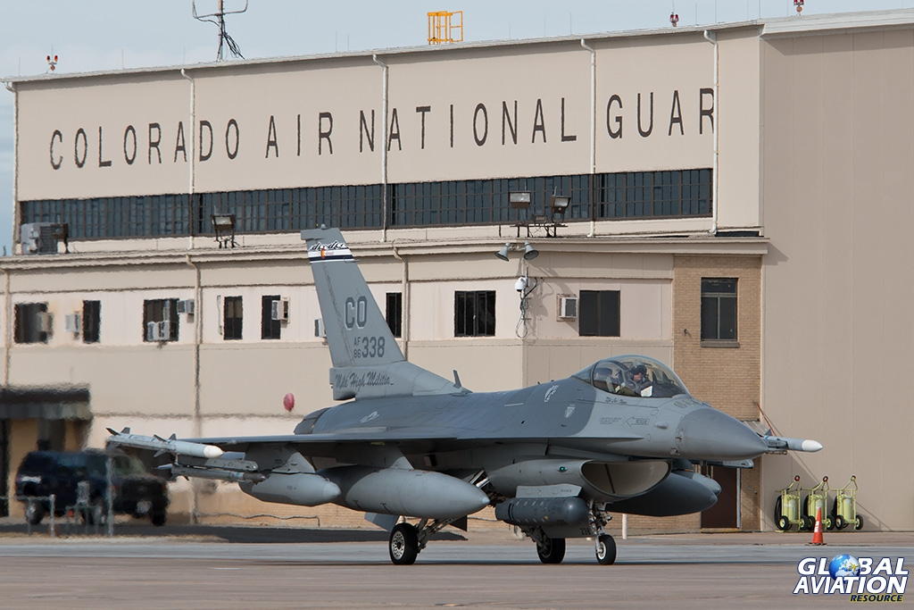 F-16C taxiing for departure - © Paul Filmer - Global Aviation Resource