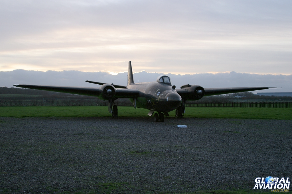 Canberra B.1/8 WV787 at the Newark Air Museum - © Karl Drage - Global Aviation Resource