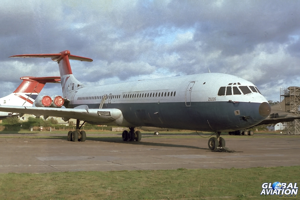 ex British Airways VC-10-1151 ZD235/G-ASGG - © Paul Filmer- Global Aviation Resource