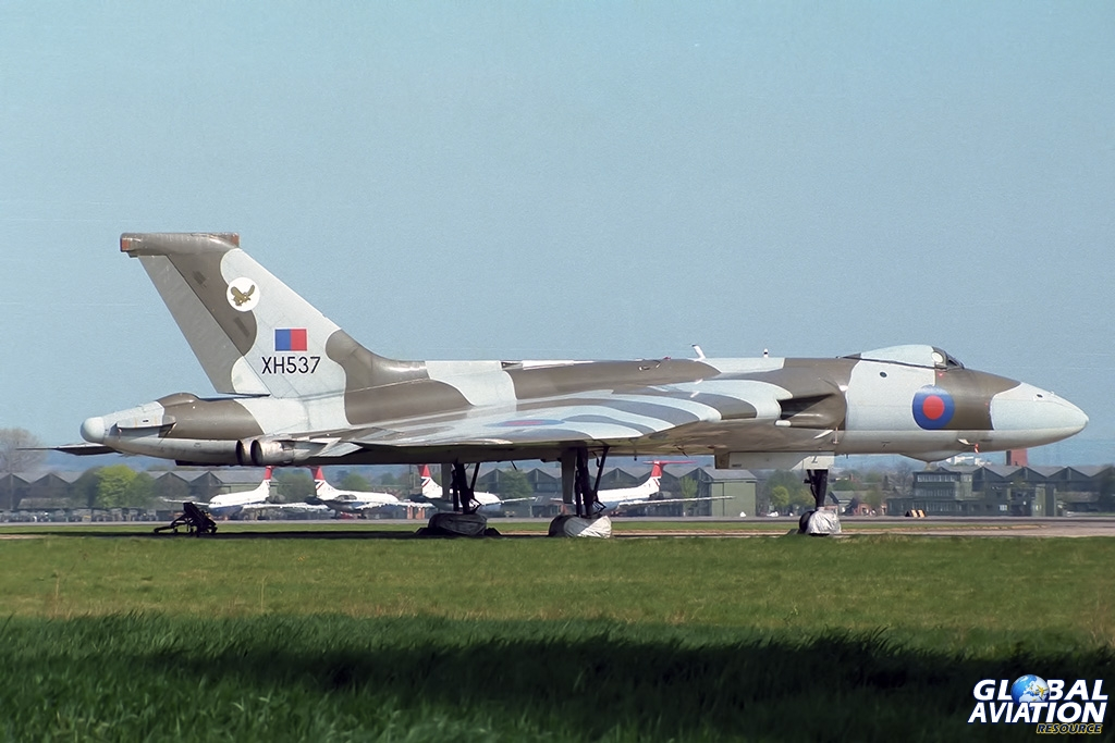 27 Squadron Vulcan B.2MRR XH537 - © Paul Filmer- Global Aviation Resource