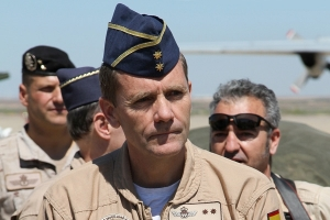 Lieutenant Colonel Jose Almodovar from the Spanish Air Mobility Command, Exercise Director for EATT13 © Karl Drage - www.globalaviationresource.com