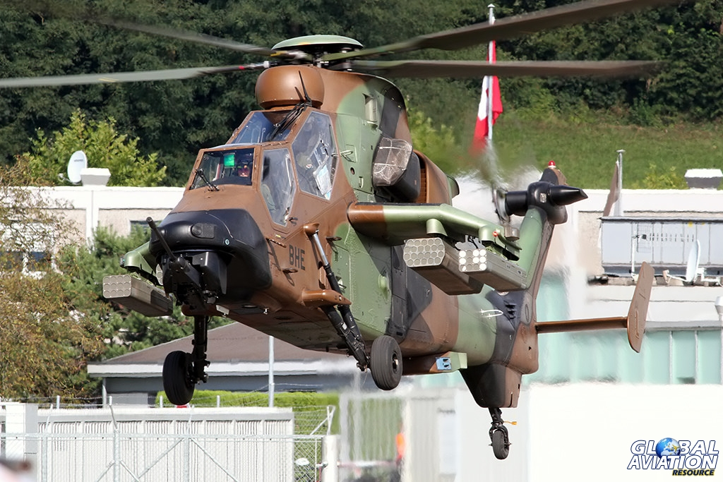 French Army EC665 Tigre HAD © Dean West - globalaviationresource.com