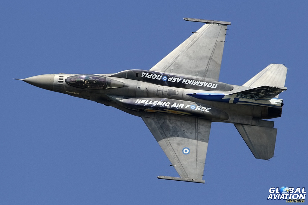 Hellenic Air Force F-16C Block 52+ © Dean West - globalaviationresource.com