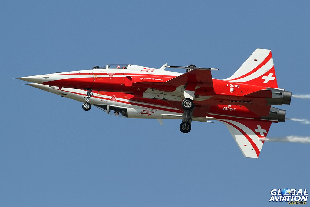 Patrouille Suisse © Dean West - globalaviationresource.com