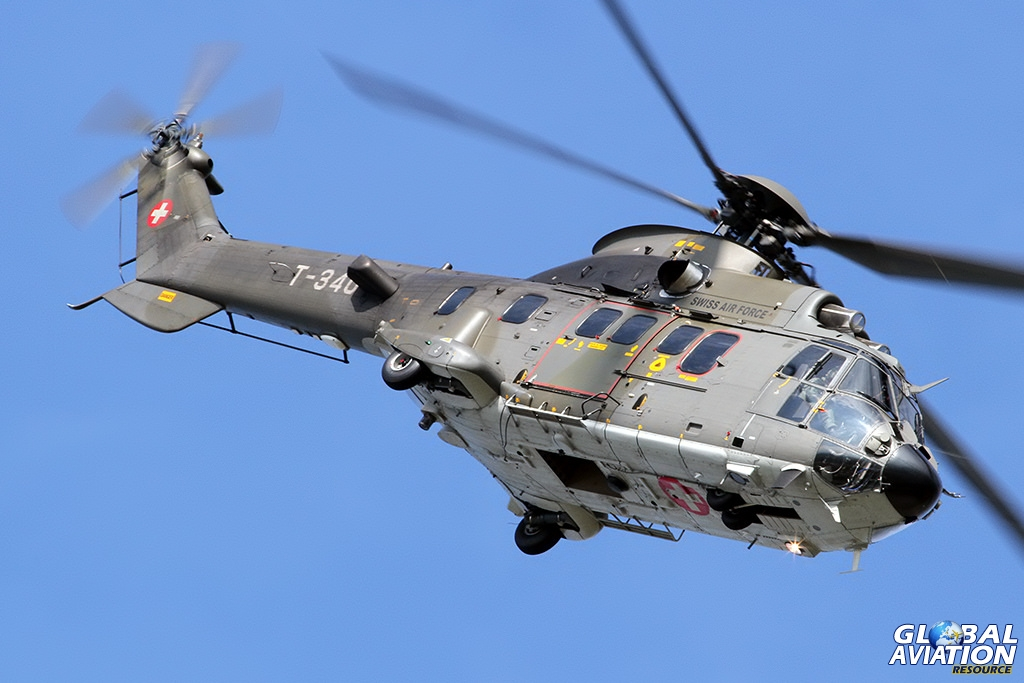Swiss Air Force AS332M1 Super Puma © Dean West - globalaviationresource.com