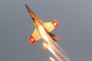 Swiss Air Force F/A-18C Hornet © Dean West - globalaviationresource.com