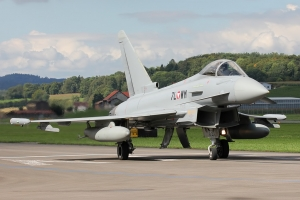 Austrian Air Force EF2000 © Dean West - globalaviationresource.com