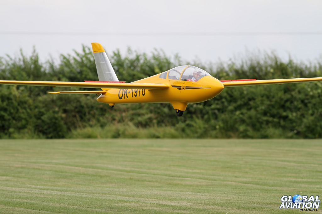 A stunning large scale Fox glider © Karl Drage - www.globalaviationresource.com