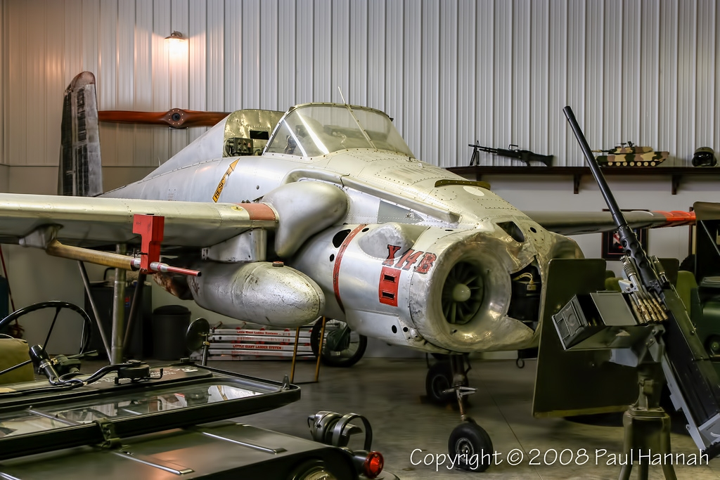 X-14B - Armor Museum at Ropkey Private Airport in Crawfordsville © Paul Hannah - www.vgbimages.com
