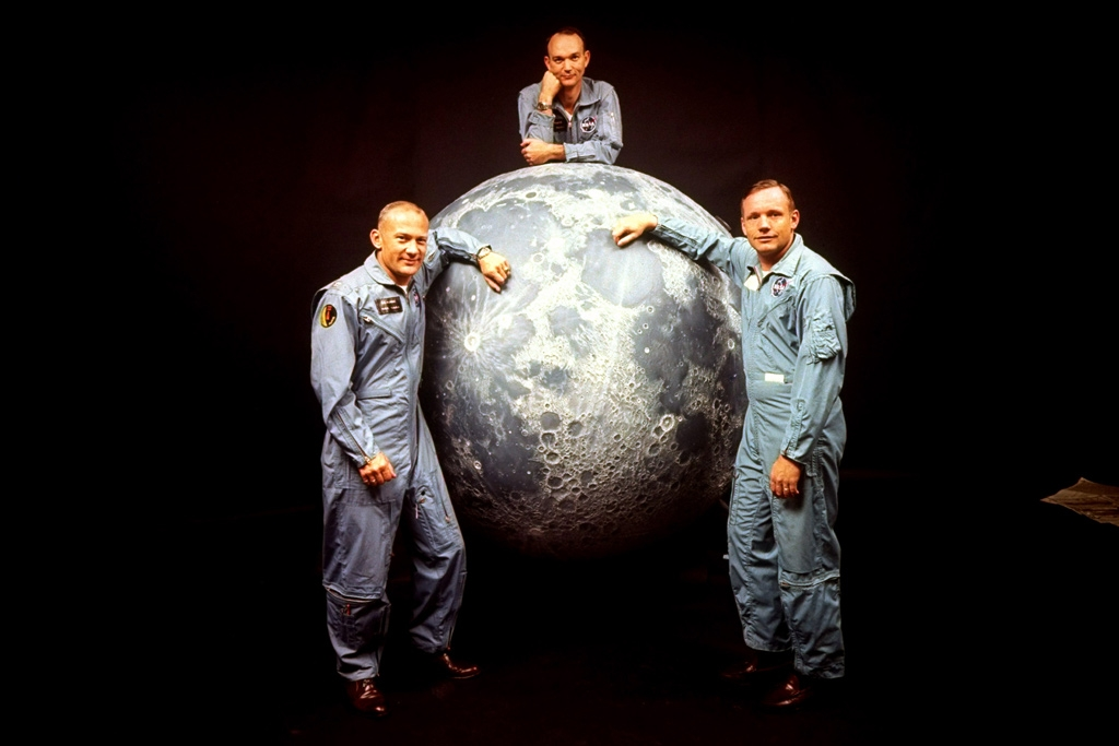 Apollo astronauts (L-R) Buzz Aldrin, Michael Collins and Neil Armstrong | Ralph Morse—The LIFE Picture Collection / Getty Images