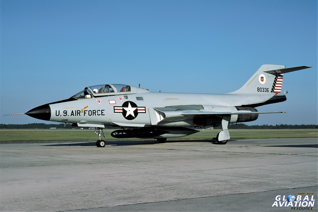 F-101B Voodoo - Air Defense Weapons Center - Tyndall AFB -10/80 © Lindsay Peacock - Global Aviation Resource