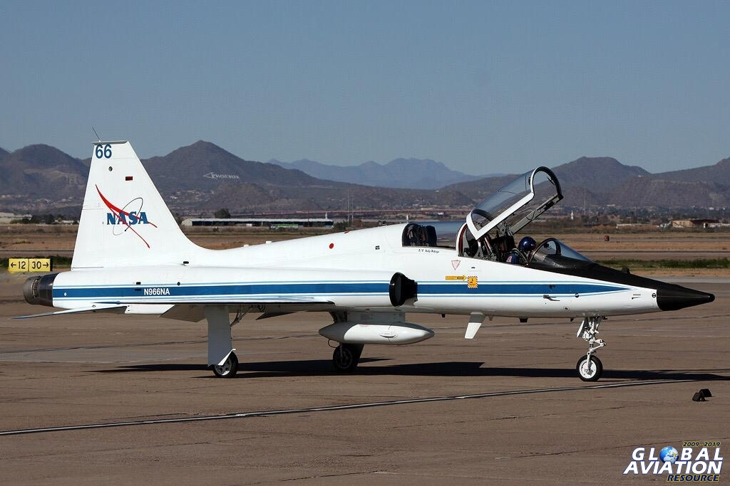 NASA T-38 Talon © Paul Dunn - Global Aviation Resource