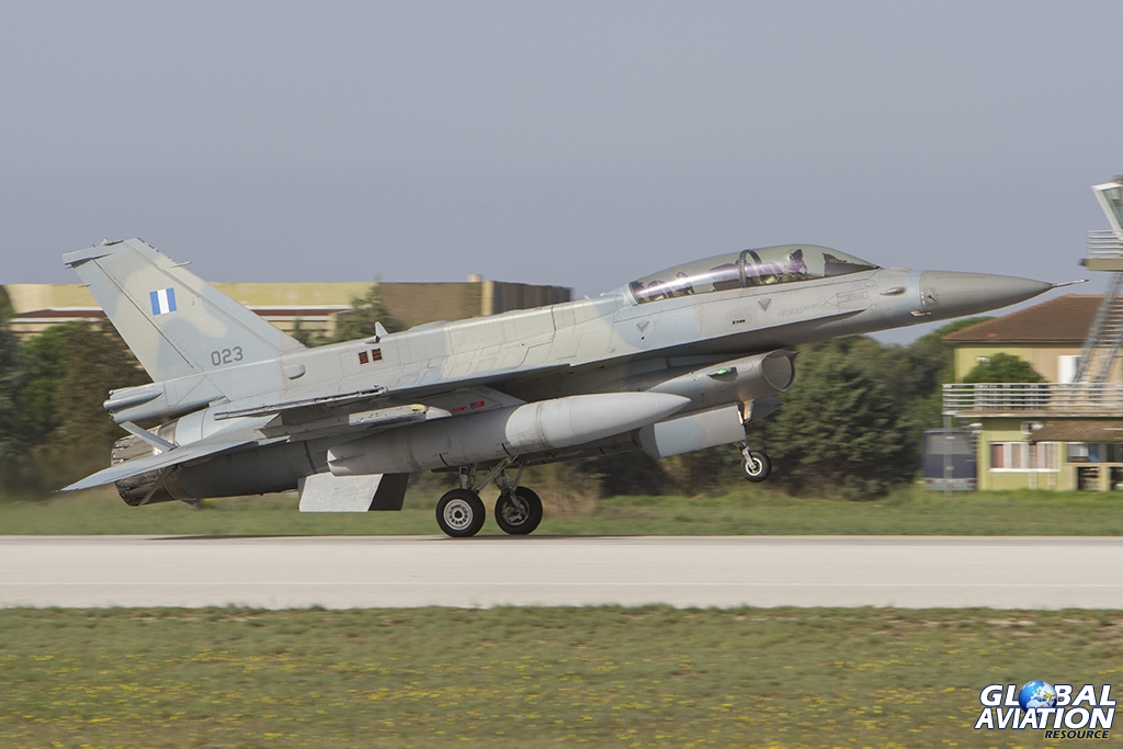 The shape of the future for 336 Mira - 023 F-16D HAF/335 Mira © Tom Gibbons - Global Aviation Resource