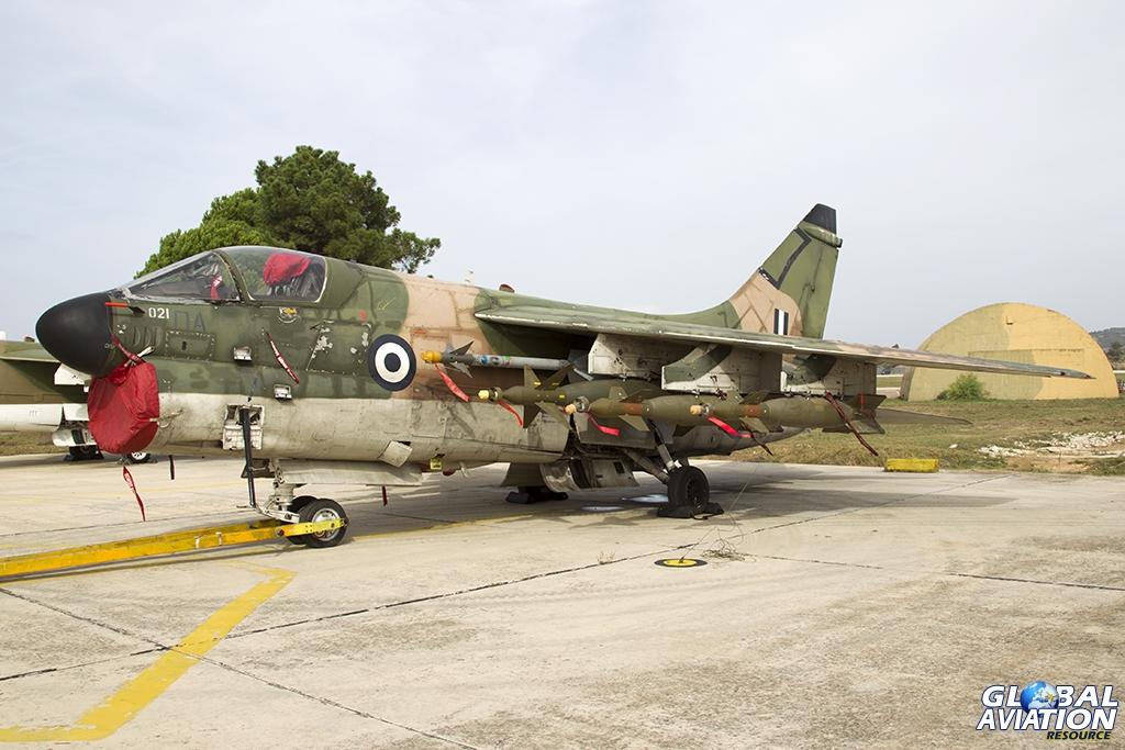 158021 A-7E HAF/336 Mira © Tom Gibbons - Global Aviation Resource