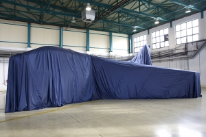 The retirement \'special\' under wraps © Tom Gibbons - Global Aviation Resource