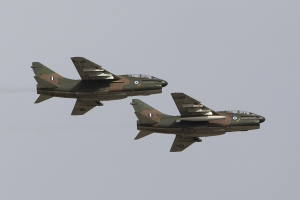 TA-7C Pair in the overhead © Tom Gibbons - Global Aviation Resource