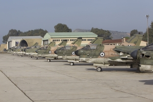 Corsairs at rest - a line of withdrawn from use A-7\'s  © Tom Gibbons - Global Aviation Resource
