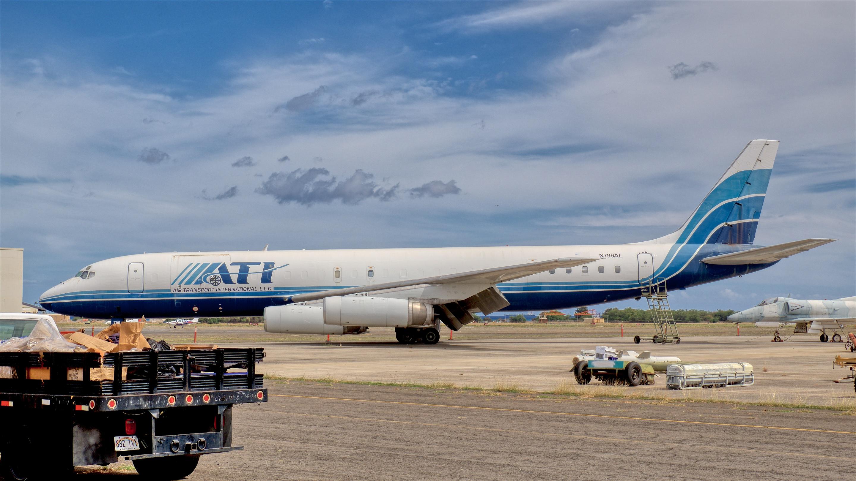 A retired Air Transport International Douglas DC-8-62CF freighter © Hayman Tam - Global Aviation Resource
