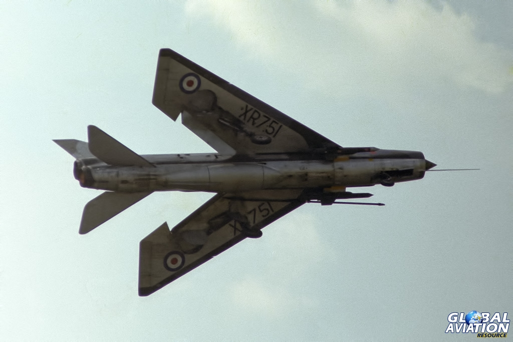 Lightning F.3 XR751 - © Paul Filmer- Global Aviation Resource