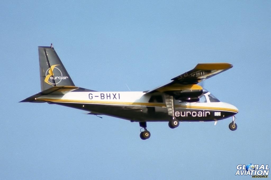 Euroair BN-2A Islander G-BHXI - © Paul Filmer- Global Aviation Resource