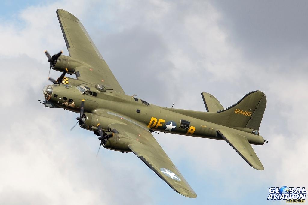 B-17G G-BEDF Sally B - © Glenn Beasley - Global Aviation Resource