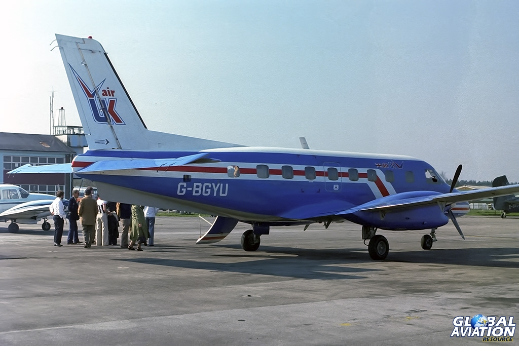 Air UK EMB110 G-BGYU - © Paul Filmer - Global Aviation Resource