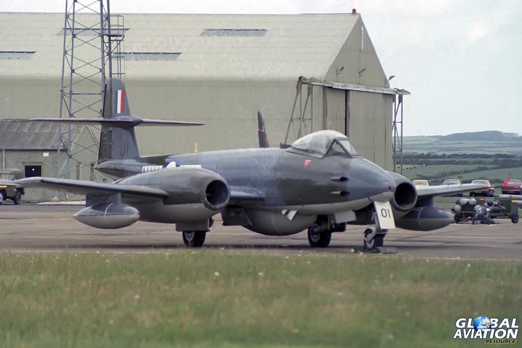 1 TWU Meteor F(TT).8 VZ467 - © Paul Filmer- Global Aviation Resource