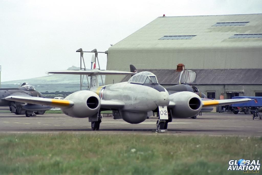1 TWU Meteor T.7 WA669 - © Paul Filmer- Global Aviation Resource