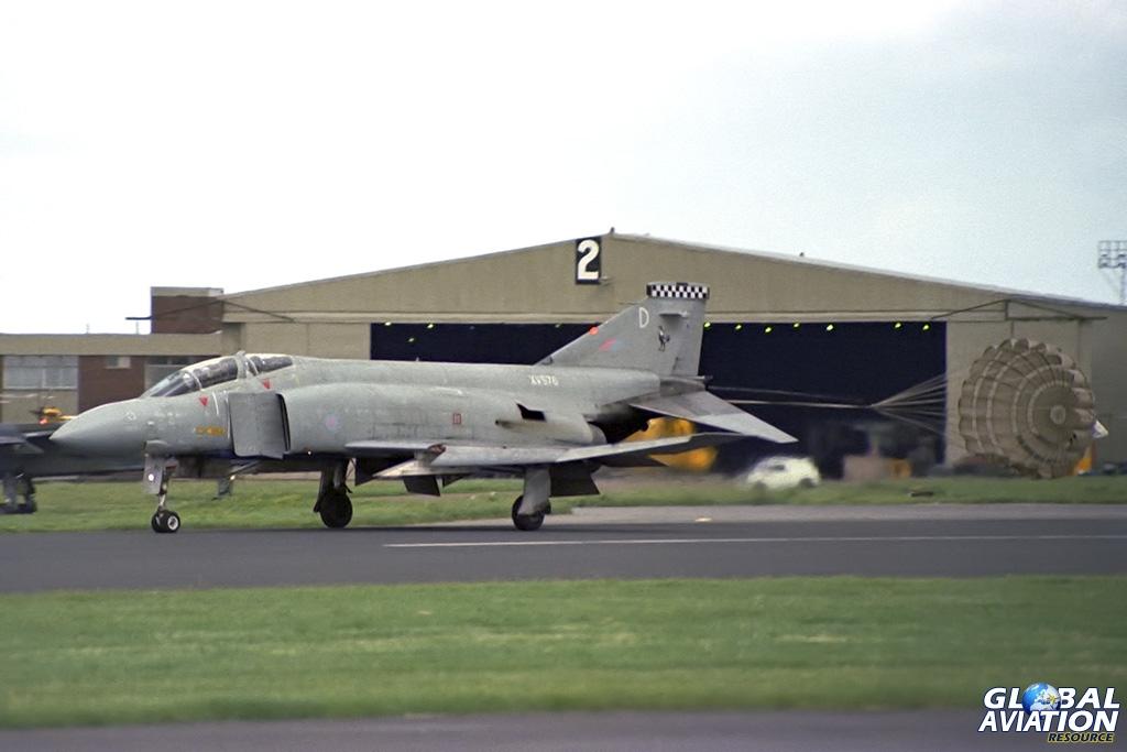 43 Squadron Phantom FG.1 XV576 - © Paul Filmer- Global Aviation Resource