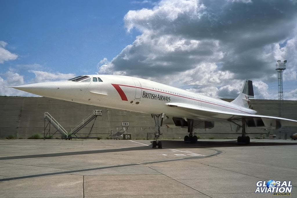 Concorde wearing its modified Landor scheme © Paul Filmer - Global Aviation Resource