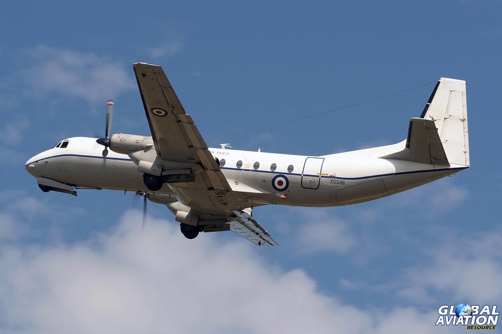 Open Skies Andover C.1PR XS596 in 2006 - © Karl Drage - Global Aviation Resource
