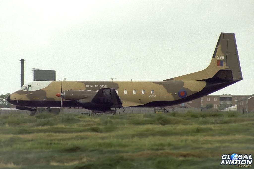 115 Squadron Andover C.1PR XS596 - © Paul Filmer- Global Aviation Resource