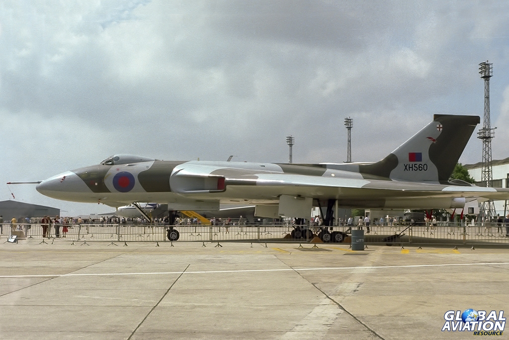 50 Squadron Vulcan B.2MRR XH560 - © Paul Filmer- Global Aviation Resource