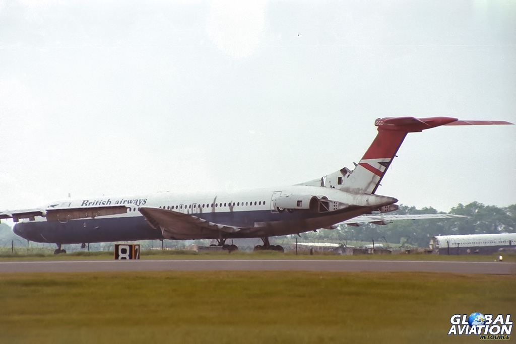 ex British Airways VC10-1151 G-ASGD - © Paul Filmer- Global Aviation Resource