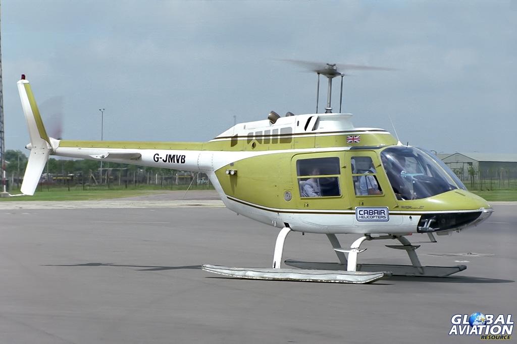 Cabair AB-205B Jet Ranger G-JMVB - © Paul Filmer- Global Aviation Resource