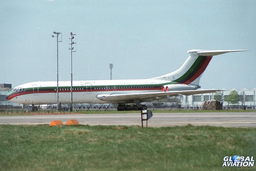 Gulf Air VC10-1011 G-ARVJ - © Paul Filmer- Global Aviation Resource