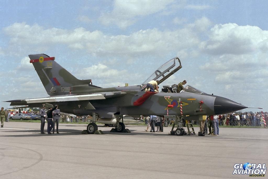 RAF Tornado GR1 ZA613 - © Paul Filmer - Global Aviation Resource